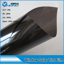 5ftx100ft( 1.52mx30m) Roll size solar window film for car High heat rejection effect car solar film for side window