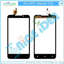 New For HTC Desire 516 Front Glass Panel Lens Touch Screen Digitizer Replacement +Tools(China)