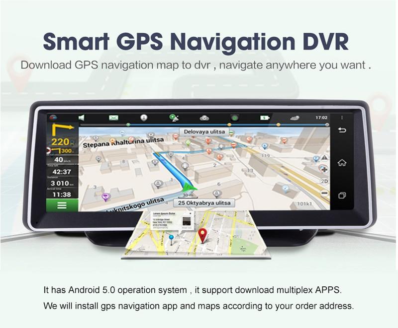 8 inch dvr gps navigator (3)