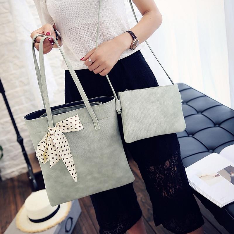 Hanup Women Fashion Canvas Silk Scarf Bags Shoulder Bag Casual Handbag <br><br>Aliexpress