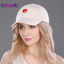 BOAPT pokemon bear character embroidery summer women's hats baseball cap female cotton casual snapback dad hat men's brand caps - boapt Official Store store