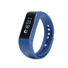 Iwown i5 Plus Smart Wristband Bluetooth 4.0 Bracelet OLED Heart Rate Sleep Monitor Waterproof Sport Band Watch for Mobile Phone(China)