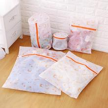 New net yarn laundry bag Underwear special care storage bag Fashion home storage bag 5 style choose A20(China)