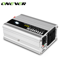 Onever 500W Car Inverter 12v 220v 50Hz Auto Inverter 12 220 Cigarette Lighter Plug Power Converter Inverter Peak Power 1000W
