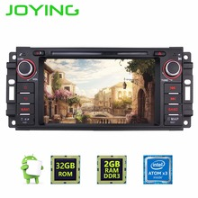 Latest 1din Android 6.0 Car tape recorder stereo player steering-wheel BT Radio Audio GPS Navi For JEEP WRANGLER DODGE CHRYSLER