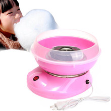 Electirc cotton candy maker Candyfloss Making Machine Cotton Sugar Candy Floss Maker Fancy art Candy Cloud Party Pink DIY(China)
