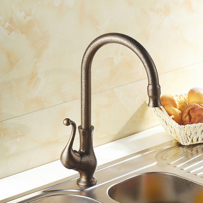 Free shipping moden and european style kitchen faucet brass chrome luxury antique taps kitchen sink mixer faucets,torneira G9838<br><br>Aliexpress
