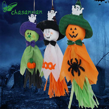 Halloween Decor Hotel Bar Haunted House Halloween Decoration Ghost Pull Flowers Ghost Festival Props Halloween Party Supplies,Q