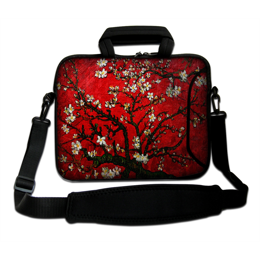 Laptop 14 Messenger Carry Bag Hot 14.1 14.2 14.4 Notebook Handle Zipper Protector Cover Cases + Shoulder Strap Free Shipping<br><br>Aliexpress