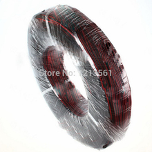 300meters Electrical Wire Tinned Copper 2 Pin AWG 22 insulated PVC Extension LED Strip Cable Red Black Wire Electric Extend Cord