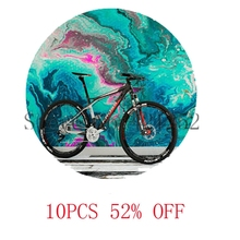 swirl paint wall bike Jewelry Street art picture necklace keyring bookmark cufflink earring
