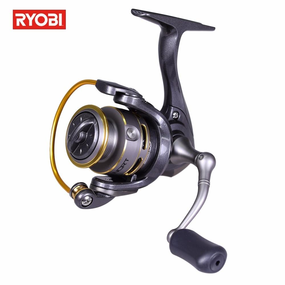 Ryobi SPIRITUAL /SPIRITUAL-DX 500 Spinning Fishing Reel Gear Ratio 5.2:1 3+1BB Max Drag 3kg Anticorrosive Spinning Reel<br>