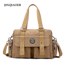 JINQIAOER 2017 Original Crossbody Bags for Women Shoulder Bag Famous Brand Casual Messenger Bags Fashion Ladies Tote Bag(China)