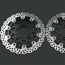 Motorcycle Accessories front Brake Disc Rotor For KAWASAKI ZX10R 1000CC model year 2008 2009 2010 2011 2012 2013 2014