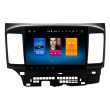 Car 2 din android GPS for Mitsubishi Lancer autoradio navigation head unit multimedia 2Gb+32Gb 64bit PX Android 6.0 PX5 8-Core(China)
