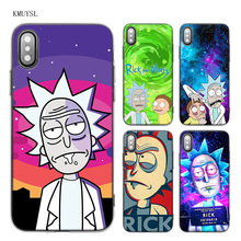 Buy KMUYSL Rick Morty Season TPU Transparent Soft Case Cover iPhone X 7 8 6 6s Plus 5 5S SE 5C for $1.97 in AliExpress store