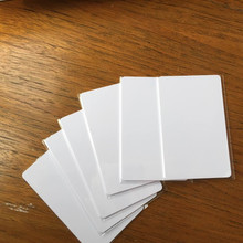 10000pcs CR80 Plain 13.56MHz NFC RFID Proximity Card ISO 14443A Compatible With MF S50 1K