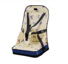 4 colors Fashion Portable Booster Seats Baby Safty Chair Seat/Portable Travel High Chair Dinner Seat(China)
