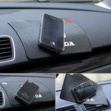 Car Anti Slip Mat For Mobile Phone Sticky Pad GPS Holder Non-slip Mat For Volkswagen VW Honda Toyota Benz Audi Opel Kia Skoda