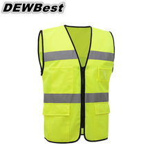 SFVEST Free shipping hot selling safety reflective jacket and Cheap Reflective Vest work vest(China)