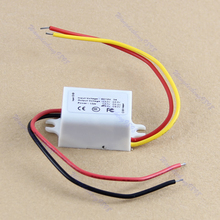 DC DC Converter 15W 12V Step Down to 6V 3A Power Supply Module Waterproof-White -Y103