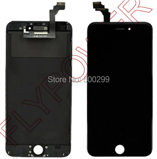For iPhone 6 Plus 5.5 LCD Screen Display with Black Touch Screen Digitizer Assembly by free shipping; 100% warranty<br><br>Aliexpress