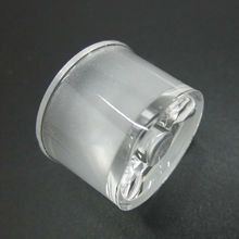 100pcs/lot 1W 3W 5W led lens 15 30 45 60 degree waterproof optical lenses holder for LED Wall Washer accessories