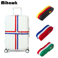 Cross Luggage Straps Trolley Suitcase Adjustable Safe Security Belt Parts Items Travel Accessories Supplies Products