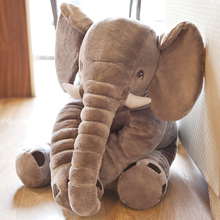 60cm Soft Doll Elephant toys Skin Animals Plush toy Children Festival Gift Baby Sleeping Bed Pillow Baby Calm Doll Gift For Kids