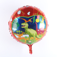 5 pcs/lot 18 inch Dinosaur Balloon Kids Birthday Wedding Party Animals Air Balloons Gifts Mylar Helium Balloon For Baby Toy