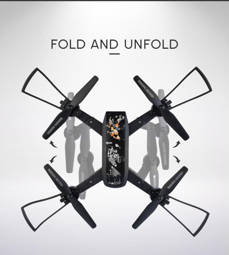 DM107S 2MP Wide-angle 110 2.4G 6Axis HD Camera WIF Foldable RC Drone Remote Control drone quadrocopter plane Toys #TX4