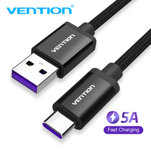 Vention 5A USB Type C Cable Huawei P10 P20 Pro mate9 pro mate10 USB-C Fast Charging USB 3.1 Data Cable Supercharge Type-C