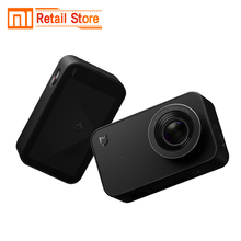 Xiaomi Mijia Mini Camera 4K Action Video Recording WiFi Digital Cameras 145 Wide Anglen App Control 2.4 Inch Touch Screen