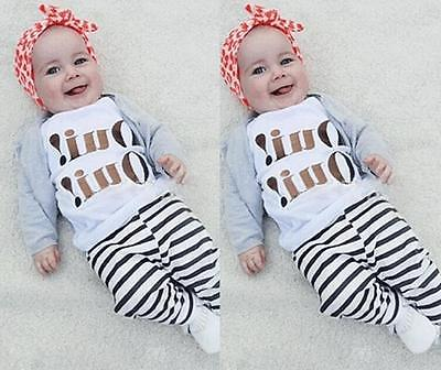 Baby Girls Boys Infant Rompers Short Sleeve T-shirt Tops Clothes  Pants Outfits<br><br>Aliexpress
