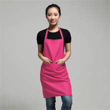 2017 New Black Cooking Baking Aprons Kitchen Apron Restaurant Aprons For Women Home Sleeveless Apron xa-N833(China)