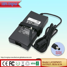 Original AC Adapter VJCH5 LA130PM121 130W 19.5V 6.7A 4.5*3.0mm For Dell Latitude E6420 Precision M4600 M4700 M6600 M6700