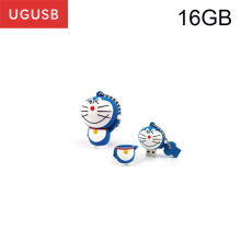 Hot cheap !! cartoon Doraemon PVC Usb flash drive Pen drive Usb memory stick thumb Pendrive Usb disk 1GB 2GB 4GB 8GB 16GB 32GB