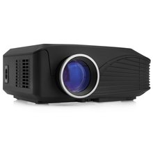 Protable H809 LED Projector 1000LM 800*600 Pixels HD 1080P Smart Media Player With TF Card / USB / HDMI / AV / VGA Input