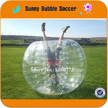 Door To Door Delivery TPU 1.2M Crazy sport games bubble soccer, bubble football, outdoor knocker ball for sale(China)