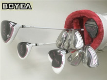 Brand New Boyea Fiore Golf Set Women Golf Clubs Driver + Fairway Woods + Irons + Putter + Bag Golf Clubs for Ladies by EMS