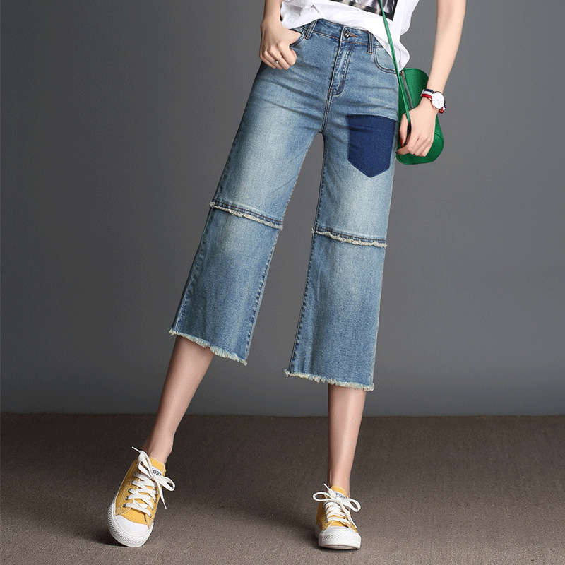 High Quality Denim Capri Pants-Buy Cheap Denim Capri Pants lots ...