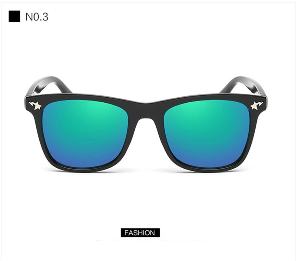 Fashion Kids Sunglasses lovely Sunglasses Mosaic Boys Girls Pixel Eyewares With Case Children Gift (24)