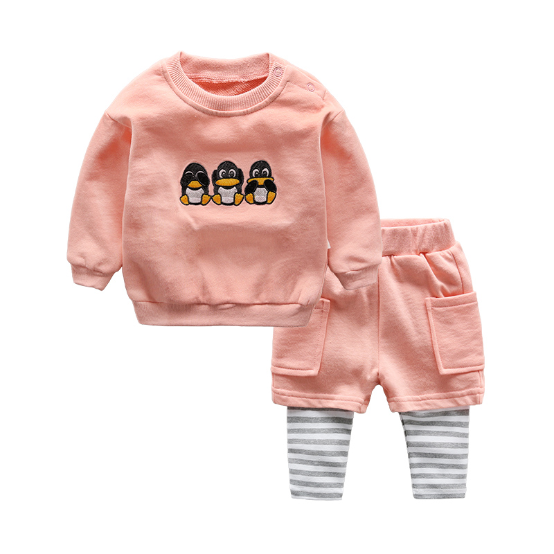 Baby sets newborn clothes spring baby t-shirt and pant<br><br>Aliexpress