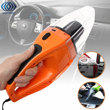DC 12V 120W Orange Mini Portable Car Vehicle Car Super Cyclone Handheld Vacuum Cleaner Wet & Dry(China)