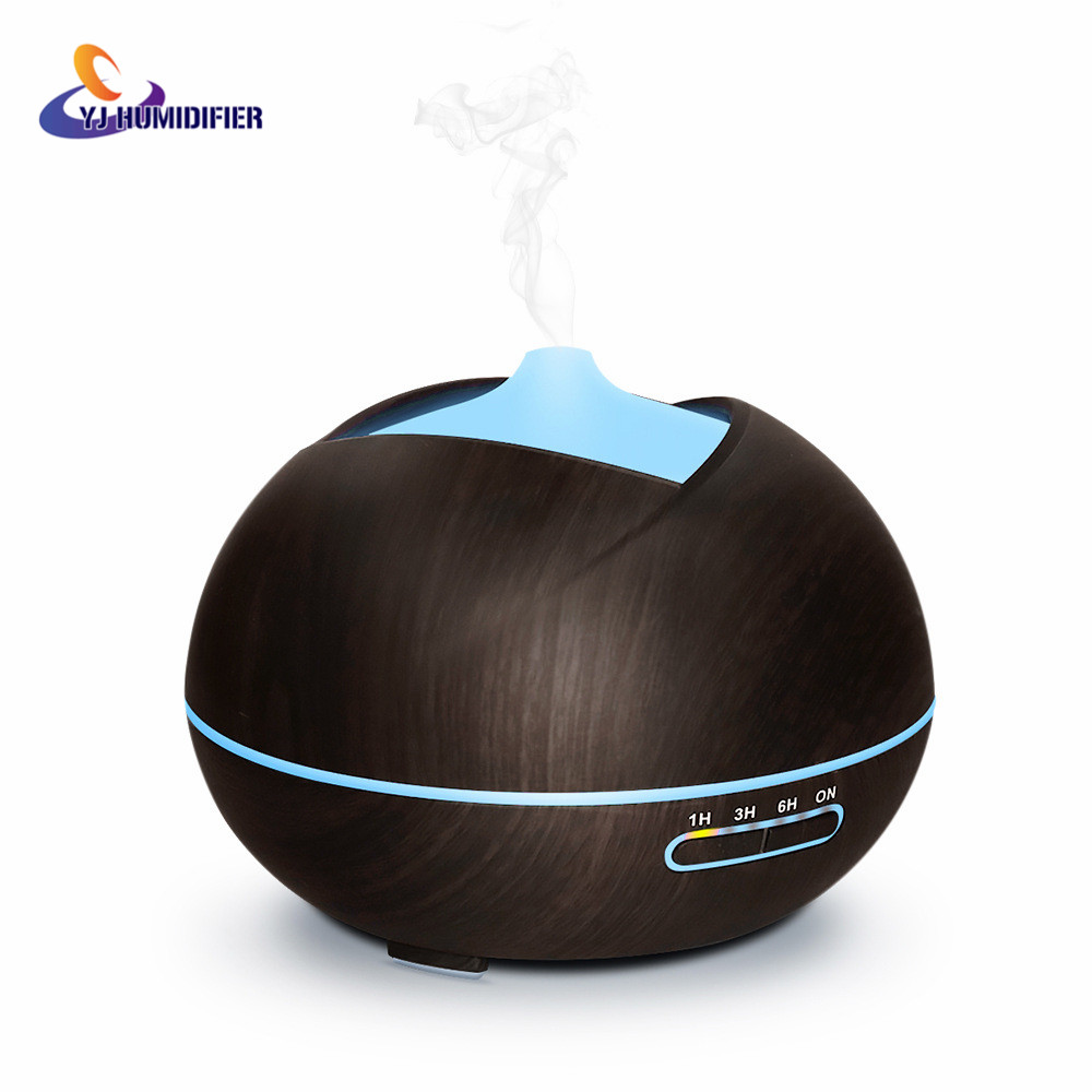 YJ HUMIDIFIER 400ml Air Humidifier Aroma Diffuser Aroma Lamp Aromatherapy Electric Essential Oil Diffuser Mist Maker <br>