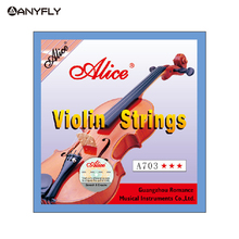 Free Shipping  Alice A703 Professional Violin Strings 4 pieces E A D G for 4/4
