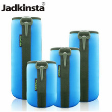Jadkinsta Portable Neoprene Soft Shockproof Protective Camera Lens Bag Pouch Cover for SONY Nikon Canon LENS Bag(China)