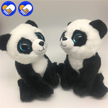 A TOY A DREAM Types Beanie Boos Original Big Eyes Plush Animal Panda & Dolphin & Husky & Poodle Toys best gifts for baby Toys