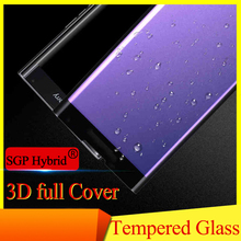 3D Full Coverage Curved Guard Tempered Glass Screen Protector For Blackberry Priv 5.4inch 9H Colorful Phone Protective Film Case(China)