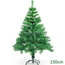 350 Branches Christmas Tree Christmas Party Decoration Supplies 150cm Dark Green Spruce Encryption Xmas Tree For New Year(China)